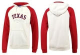 Texas Rangers Pullover Hoodie White & Red