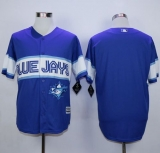 Toronto Blue Jays Blank Blue Exclusive New Cool Base Stitched MLB Jersey