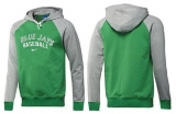 Toronto Blue Jays Pullover Hoodie Green & Grey