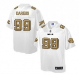 Nike Buffalo Bills #99 Marcell Dareus White Men\'s NFL Pro Line Fashion Game Jersey