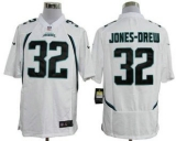 Nike Jaguars #32 Maurice Jones-Drew White Men\'s Stitched NFL Game Jersey
