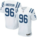 Nike Indianapolis Colts #96 Henry Anderson White Men\'s Stitched NFL Elite Jersey
