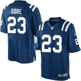 NikeIndianapolis Colts #23 Frank Gore Royal Blue Team Color Men\'s Stitched NFL Limited Jersey