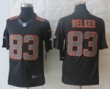 Nike Denver Broncos 83 Welker Impact Limited Black Jerseys