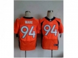 Nike jerseys denver broncos #94 ware orange[new Elite]