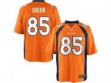 Nike NFL Denver Broncos Virgil Green orange 85 football elite jersey