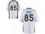 Nike NFL Denver Broncos Virgil Green White 85 football elite jersey