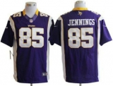 Nike Vikings #85 Greg Jennings Purple Team Color Men\'s Stitched NFL Limited Jersey