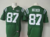 Nike New York Jets #87 Eric Decker Green Men\'s Stitched NFL Elite Rush Jersey