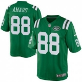 Nike New York Jets #88 Jace Amaro Green Men\'s Stitched NFL Elite Rush Jersey