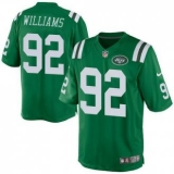 Nike New York Jets #92 Leonard Williams Green Men\'s Stitched NFL Elite Rush Jersey