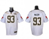 Nike Tampa Bay Buccaneers #93 Gerald McCoy White 2016 Pro Bowl Men\'s Stitched NFL Elite Jersey