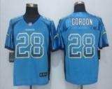 Nike San Diego Chrgers #28 Melvin Gordon Electric Blue Alternate Men\'s Stitched NFL Elite Drift Fashion Jersey