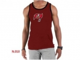 Nike NFL Tampa Bay Buccaneers Sideline Legend Authentic Logo men Tank Top Red