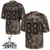 NEW Broncos #88 Demaryius Thomas Camo Super Bowl XLVIII NFL Realtree Elite Jerseys