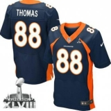 NEW Broncos #88 Demaryius Thomas Navy Blue Alternate Super Bowl XLVIII NFL Jerseys