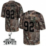 NEW Broncos #92 Sylvester Williams Camo Super Bowl XLVIII NFL Realtree Elite Jerseys