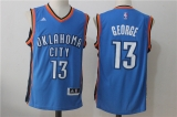 Oklahoma City Thunder #13 Kevin Durant new blue NBA Jersey