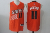 Phoenix Suns #11 Charles Barkley orange new NBA Jersey