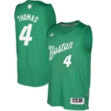 Boston Celtics #4 Isaiah Thomas Green 2016-2017 Christmas Day Stitched NBA Jersey