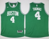 Boston Celtics #4 Isaiah Thomas Green Stitched NBA Jersey