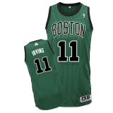 Boston Celtics #11 Kyrie Irving Green(Black No11) Alternate Stitched NBA Jersey