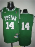 Boston Celtics #14 Bob Cousy Stitched Green Throwback NBA Jerse