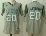 Boston Celtics #20 Gordon Hayward Gray Pride Stitched NBA Jersey
