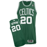 Boston Celtics #20 Gordon Hayward Green Road Stitched NBA Jersey