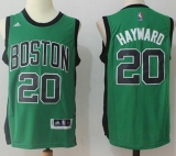 Boston Celtics #20 Gordon Hayward Green(Black No20) Alternate Stitched NBA Jersey