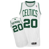 Boston Celtics #20 Gordon Hayward White Home Stitched NBA Jersey