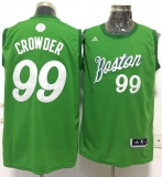 Boston Celtics #99 Jae Crowder Green 2016-2017 Christmas Day Stitched NBA Jersey