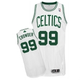 Boston Celtics #99 Jae Crowder White Men\'s Adidas NBA Jersey