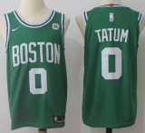 Nike Boston Celtics #0 Jayson Tatum Green Stitched NBA Jersey