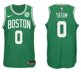 Nike Boston Celtics #0 Jayson Tatum NBA 2 017-18 New Season Men