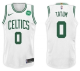 Nike Boston Celtics #0 Jayson Tatum NBA 201 7-18 New Season Men