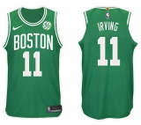 Nike Boston Celtics #11 Kyrie Irving NBA 2017-18 New Season Men