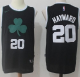 Nike Boston Celtics #20 Gordon Hayward Black Stitched NBA Jersey