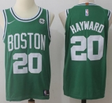Nike Boston Celtics #20 Gordon Hayward Green Stitched NBA Jersey