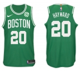 Nike Boston Celtics #20 Gordon Hayward NBA 2017-18 New Season Men