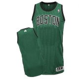 Revolution 30 Boston Celtics Blank Green Black Stitched NBA Jersey