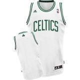 Revolution 30 Boston Celtics Blank White Stitched NBA Jersey