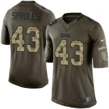 Nike Philadelphia Eagles #43 Darren Sproles Green Men\'s Stitched NFL Limited Salute to Service Jersey