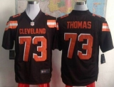 Nike Cleveland Browns #73 Joe Thomas Brown Team Color Men\'s Stitched NFL Game Jersey