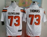 Nike Cleveland Browns #73 Joe Thomas White Men\'s Stitched NFL Game Jersey