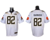 Nike Cleveland Browns #82 Gary Barnidge White 2016 Pro Bowl Men\'s Stitched NFL Elite Jersey