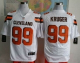 Nike Cleveland Browns #99 Paul Kruger White Men\'s Stitched NFL Game Jersey