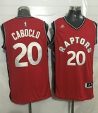 Toronto Raptors #20 Bruno Caboclo Red Stitched NBA Jersey