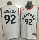Toronto Raptors #92 Lucas Nogueira White Stitched NBA Jersey