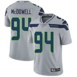 Nike Seahawks #94 Malik McDowell Grey Alternate Men\'s Stitched NFL Vapor Untouchable Limited Jersey